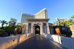 De Baaitoevlucht van Mandalay en Casino, Las Vegas, NV Stock Afbeelding