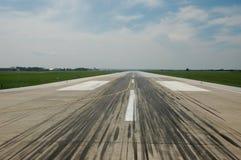De Baan van de luchthaven Stock Foto
