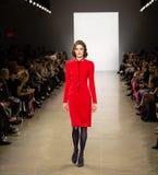 De Baan van Zang Toi FW19 toont als deel van daar New York Fashion Week royalty-vrije stock foto's