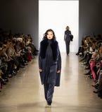 De Baan van Zang Toi FW19 toont als deel van daar New York Fashion Week stock afbeelding
