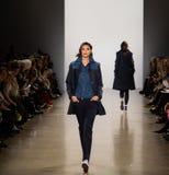 De Baan van Zang Toi FW19 toont als deel van daar New York Fashion Week stock foto