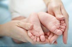 De baby van benen. Royalty-vrije Stock Afbeeldingen
