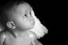 De Baby van de engel royalty-vrije stock afbeelding