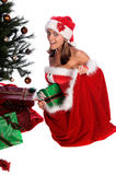 De Baby van de kerstman Stock Afbeeldingen