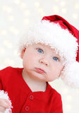 De baby van de Kerstman van Kerstmis Stock Afbeelding
