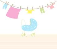 De baby van de kinderwagen Royalty-vrije Stock Afbeeldingen