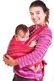 De baby van de moeder anb Royalty-vrije Stock Fotografie