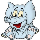De baby van de olifant Stock Foto's