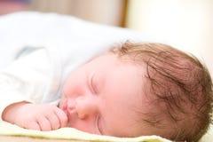 De baby van de slaap Royalty-vrije Stock Afbeelding