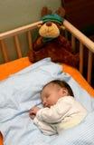De baby van de slaap Stock Afbeeldingen