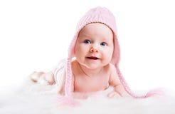 De baby van de winter Royalty-vrije Stock Afbeeldingen