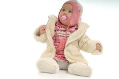 De baby van de winter Stock Foto