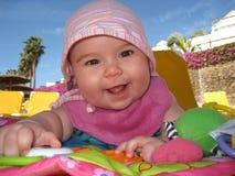 De baby van de zomer Stock Fotografie
