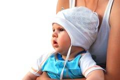 De baby van de zuigeling Royalty-vrije Stock Afbeelding