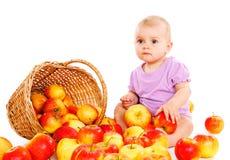 De baby van het fruit stock foto's