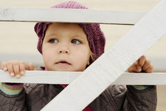 De baby van het land Royalty-vrije Stock Afbeelding