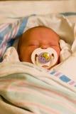 De baby van het ziekenhuis Stock Foto's