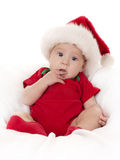 De baby van Kerstmis Royalty-vrije Stock Afbeeldingen