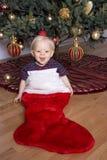 De Baby van Kerstmis royalty-vrije stock foto