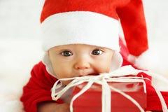 De baby van Kerstmis Stock Foto's