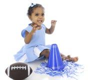 De baby zegt, Royalty-vrije Stock Afbeelding