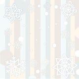 De babyachtergrond van de winter Stock Fotografie
