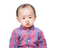 De babyjongen van Azië royalty-vrije stock foto