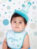 De babyjongen van de verjaardag Royalty-vrije Stock Afbeelding
