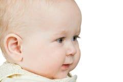 De babyjongen van het portret Royalty-vrije Stock Foto's