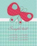De babykaart van de groet Royalty-vrije Stock Foto's