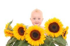 De babymeisje van de zomer Royalty-vrije Stock Foto