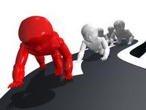 De babys rennen royalty-vrije illustratie