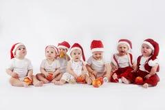 De babys van Kerstmis royalty-vrije stock foto