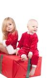 De babys van Kerstmis Stock Afbeelding
