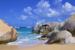 De Baden in Caraïbisch Virgin Gorda, royalty-vrije stock afbeeldingen