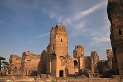 De baden van Caracalla stock foto