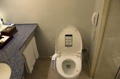 De badkamers van de hotelruimte Stock Afbeeldingen
