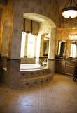 De Badkamers van de luxe stock afbeelding