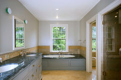 De badkamers van de luxe Stock Fotografie
