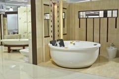 De Badkamers van de luxe binnen Stock Afbeelding