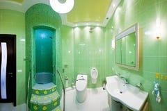 De badkamers van kinderen Stock Afbeeldingen