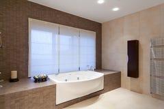 De badkamers van ?omfortable Stock Foto's