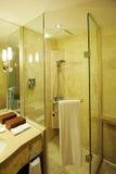 De badkamersbinnenland van het hotel Royalty-vrije Stock Fotografie