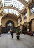 De badkamerss van Boedapest Hongarije Europa gellert Stock Foto