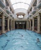 De badkamerss van Boedapest Hongarije Europa gellert Stock Afbeelding