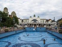 De badkamerss van Boedapest Hongarije Europa gellert Royalty-vrije Stock Foto's