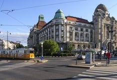 De badkamerss van Boedapest Hongarije Europa gellert Royalty-vrije Stock Afbeelding
