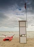 De badmeesterpost Stock Foto