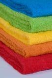 De badstofhanddoeken van de kleur Royalty-vrije Stock Foto's