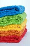 De badstofhanddoeken van de kleur Royalty-vrije Stock Fotografie